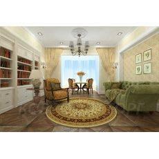 Шерстяной ковер Isfahan 207/01659 1*1 м (Акция)