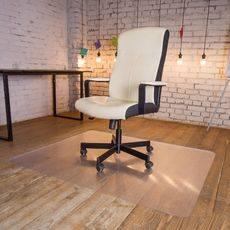 Защитный коврик под кресло 1.0x1.2, прозрачный, шагрень, поликарбонат, толщина 1,8 мм