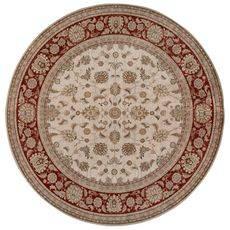 Ковер безворсовый на латексной основе Глория 112.1. круглый 1.9х1.9