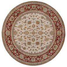 Ковер безворсовый на латексной основе Глория 112.1. круглый 1.2х1.2