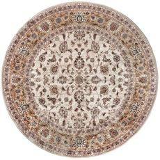 Ковер безворсовый на латексной основе Глория 112.2. круглый 1.2х1.2