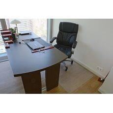 Защитный коврик под кресло 0.9x1.2, прозрачный, шагрень, поликарбонат, толщина 1,8 мм