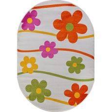 Купить ковер  MERINOS(Россия) CRYSTAL 1021 CREAM Овал 1.60x2.30