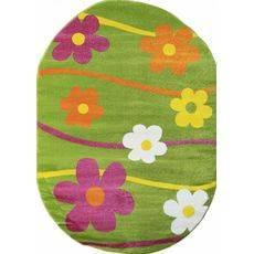 Купить ковер  MERINOS(Россия) CRYSTAL 1021 GREEN Овал 0.80x1.50