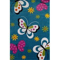 Купить ковер  MERINOS(Россия) CRYSTAL 0772 BLUE Прямоугольник 0.80x1.50