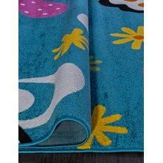 Купить ковер  MERINOS(Россия) CRYSTAL 0772 BLUE Прямоугольник 1.60x2.30