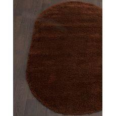 Купить ковер  MERINOS(Россия) SHAGGY ULTRA s600 BROWN Овал 1.50x2.30