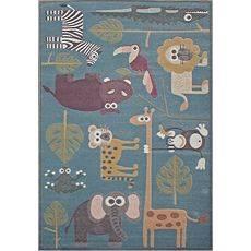 Купить ковер  MERINOS(Россия) SOFIT C043 LIGHT BLUE Прямоугольник 0.80x1.50