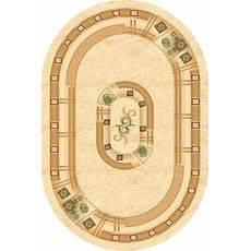 Купить ковер  MERINOS(Россия) VALENCIA 5263 CREAM Овал 3.00x5.00