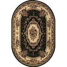 Купить ковер  MERINOS(Россия) LAGUNA 5444 GREEN Овал 2.50x3.50