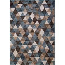 Купить ковер  MERINOS(Россия) MATRIX D578 BEIGE-BLUE Прямоугольник 1.60x3.00