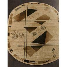 Купить ковер  MERINOS(Россия) VALENCIA 5383 CREAM Овал 2.50x4.50