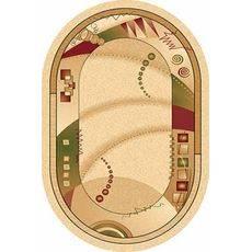 Купить ковер  MERINOS(Россия) VALENCIA d001 CREAM Овал 2.50x5.00