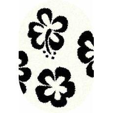 Купить ковер  MERINOS(Россия) SHAGGY ULTRA s605 BONE-BLACK Овал 3.00x5.00